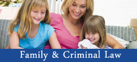 Mother with Children - Law Firm